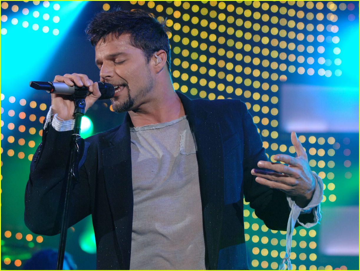 ricky martin concert pictures11285111
