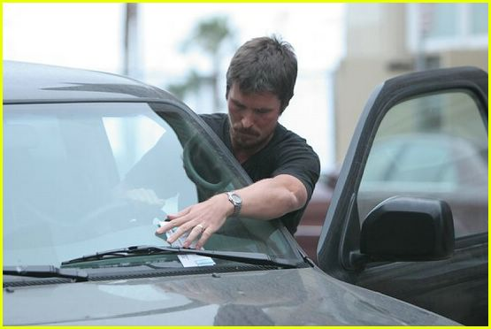 christian bale parking ticket01