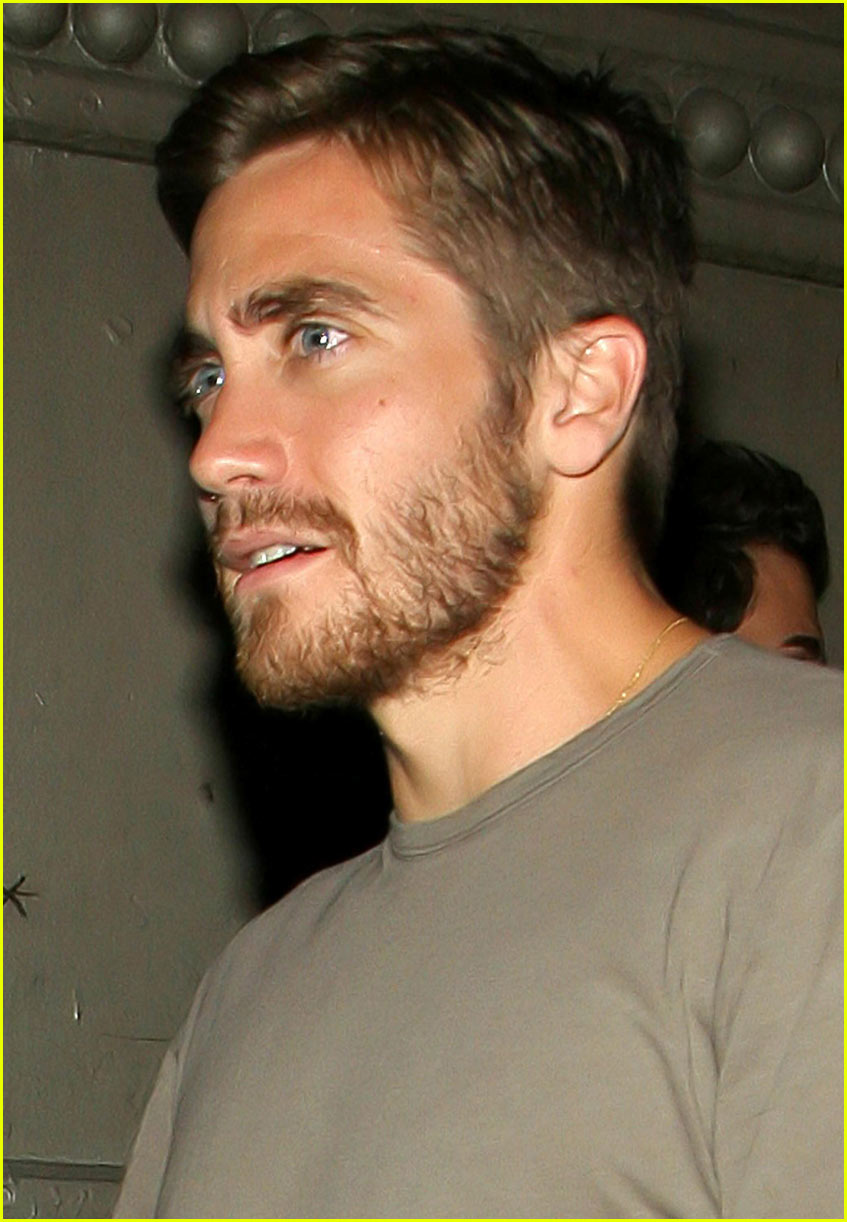Full Sized Photo Of Jake Gyllenhaal Tattoo 02 Photo 260701 Just Jared