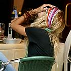 nicole richie head wrap 07