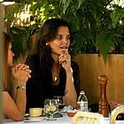katie holmes oros restaurant 16