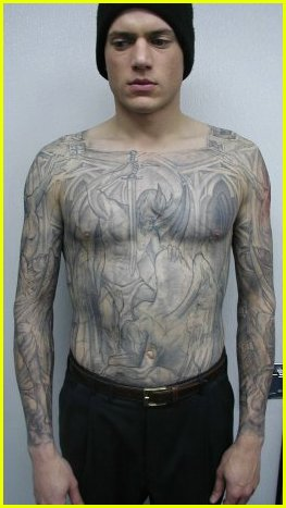wentworth miller tattoo