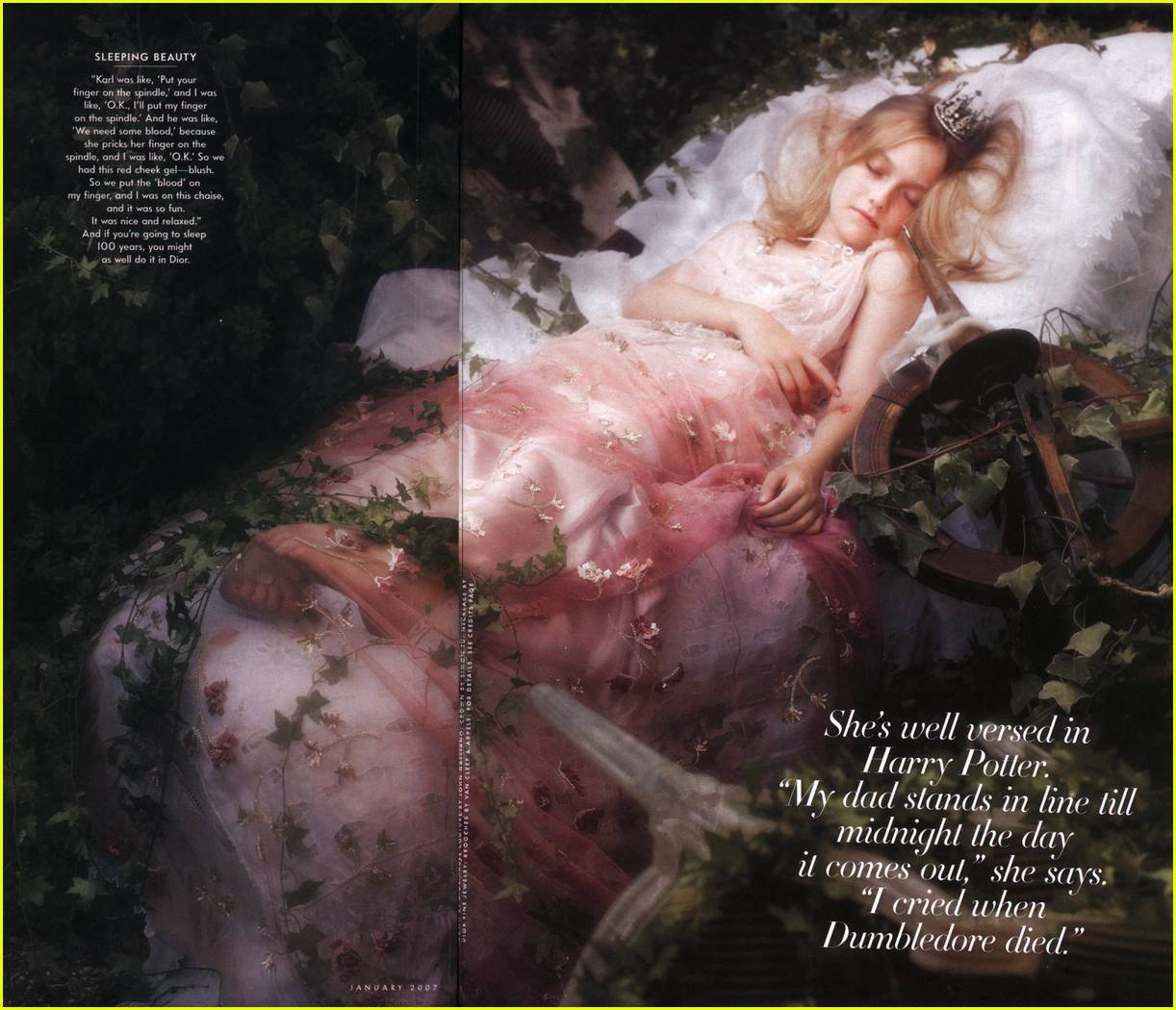 dakota fanning vanity fair 06