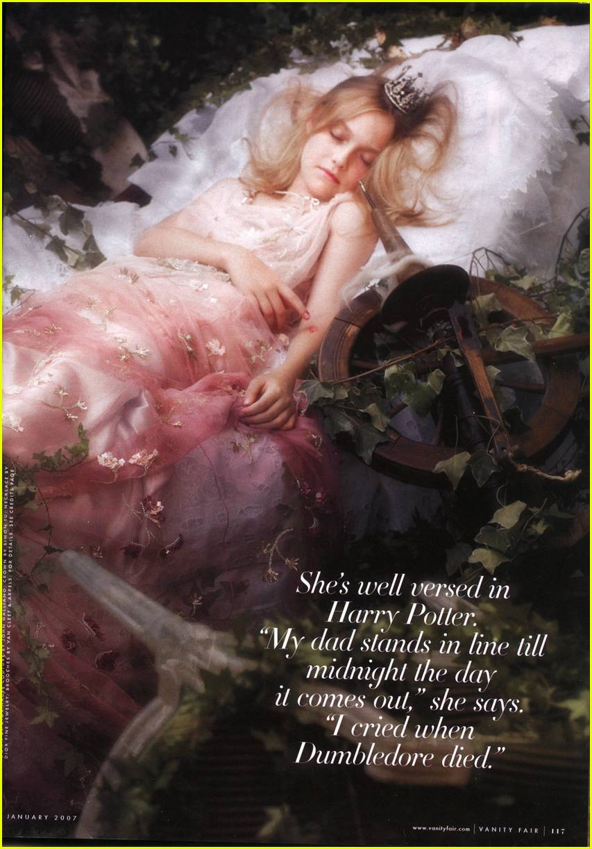 dakota fanning vanity fair 07