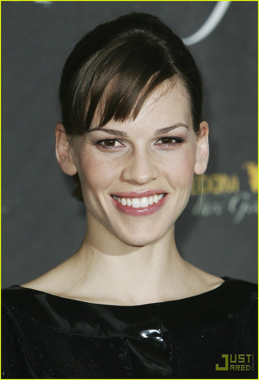 hilary swank minidress 04