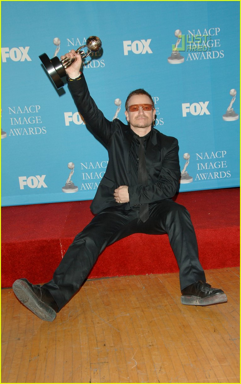 bono naacp awards 2007 01