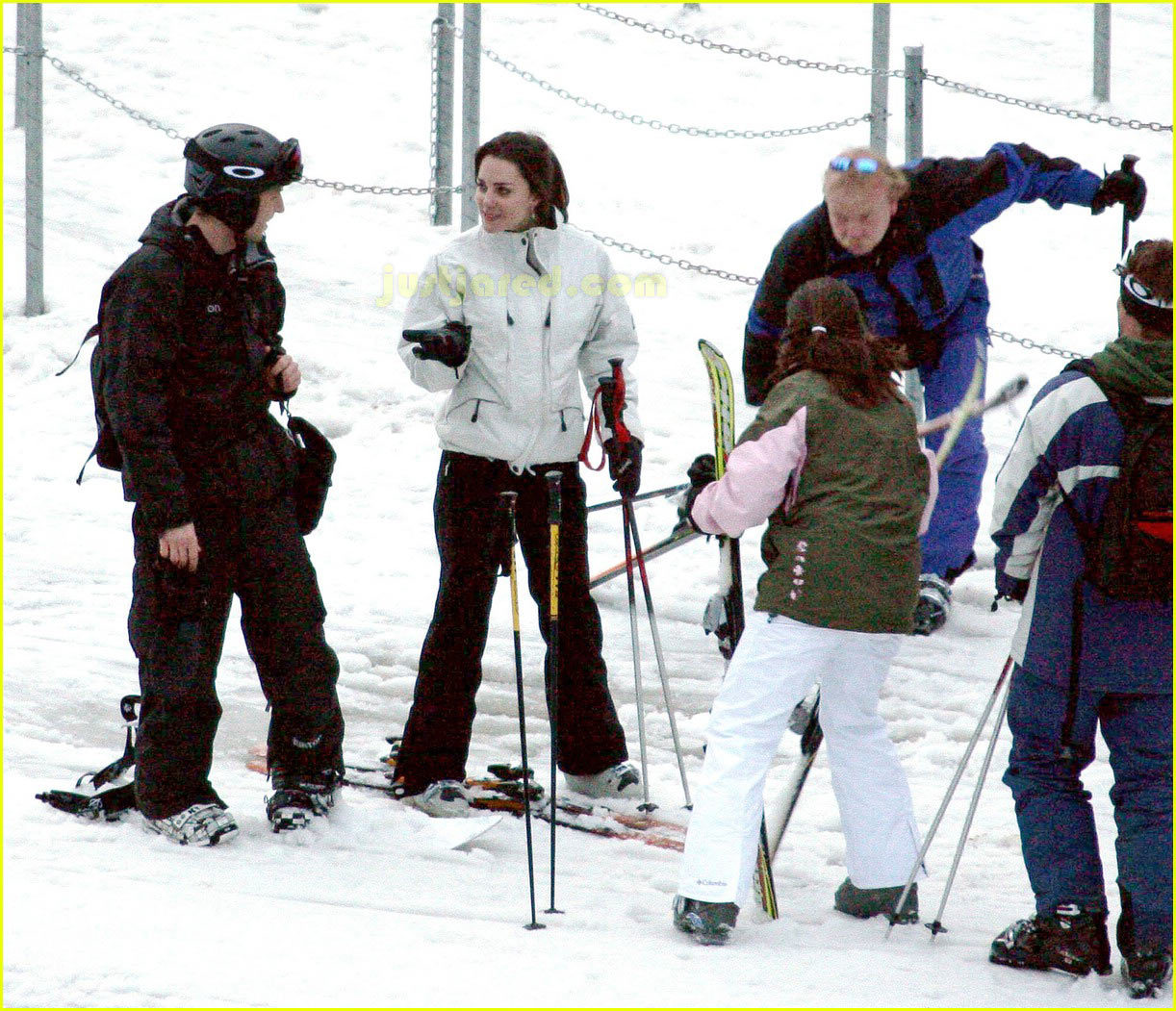prince william kate middleton skiing 12