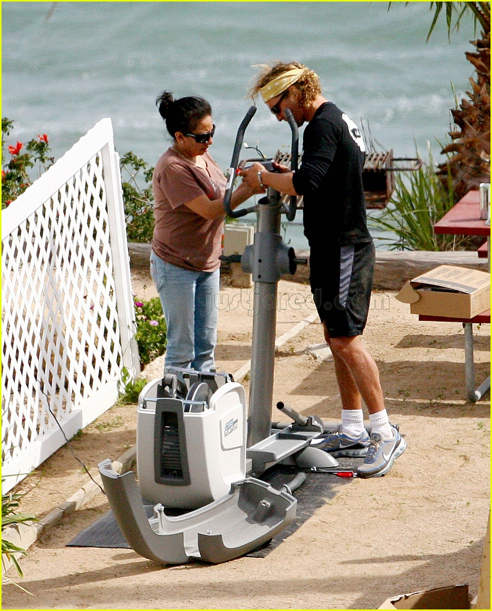 matthew mcconaughey elliptical exercise machine 06