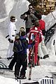 posh beckham skiing 04