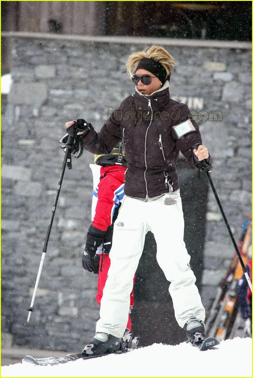posh spice skiing 08