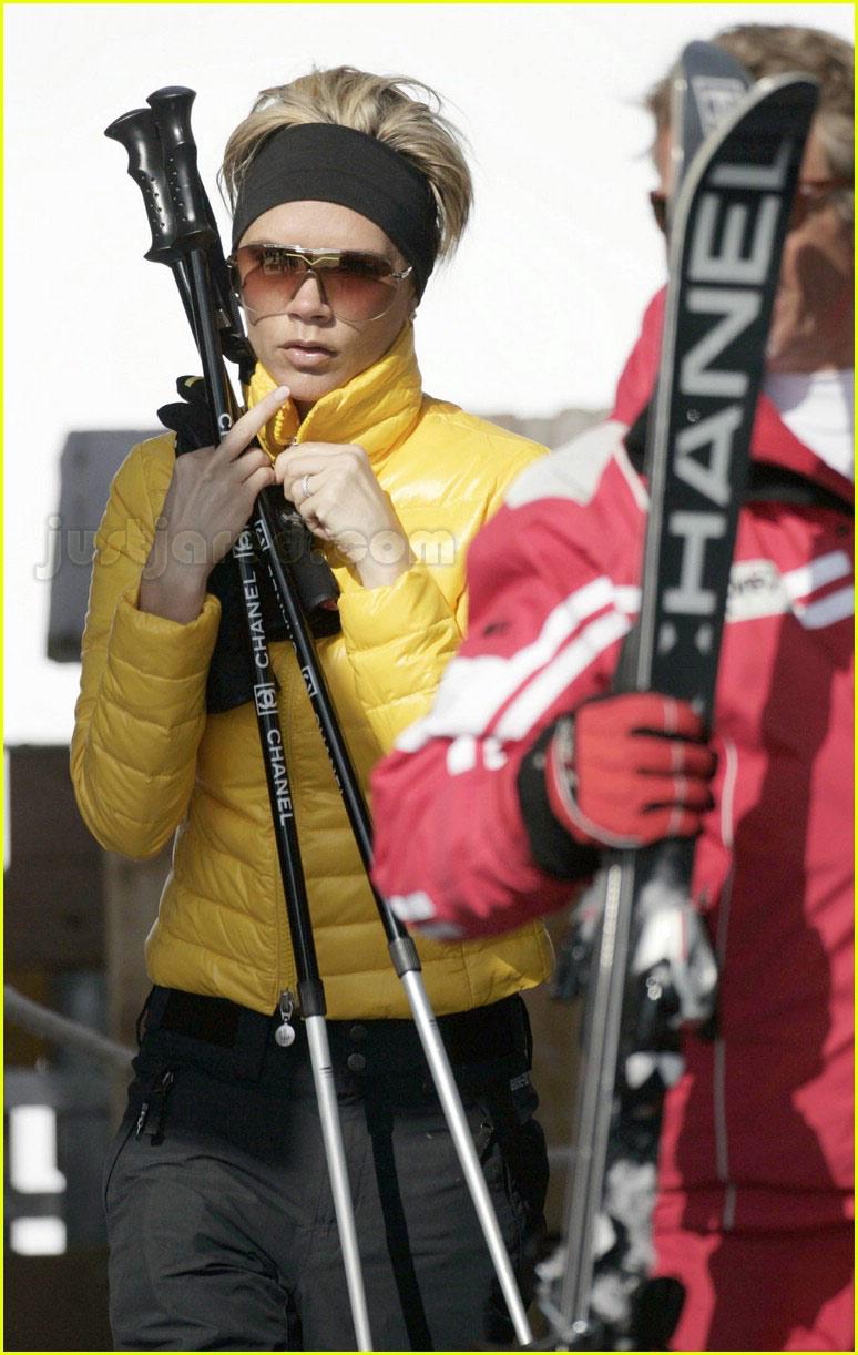 posh spice skiing 19