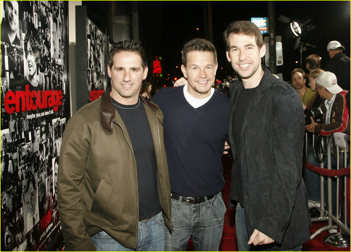 mark wahlberg entourage premiere 03