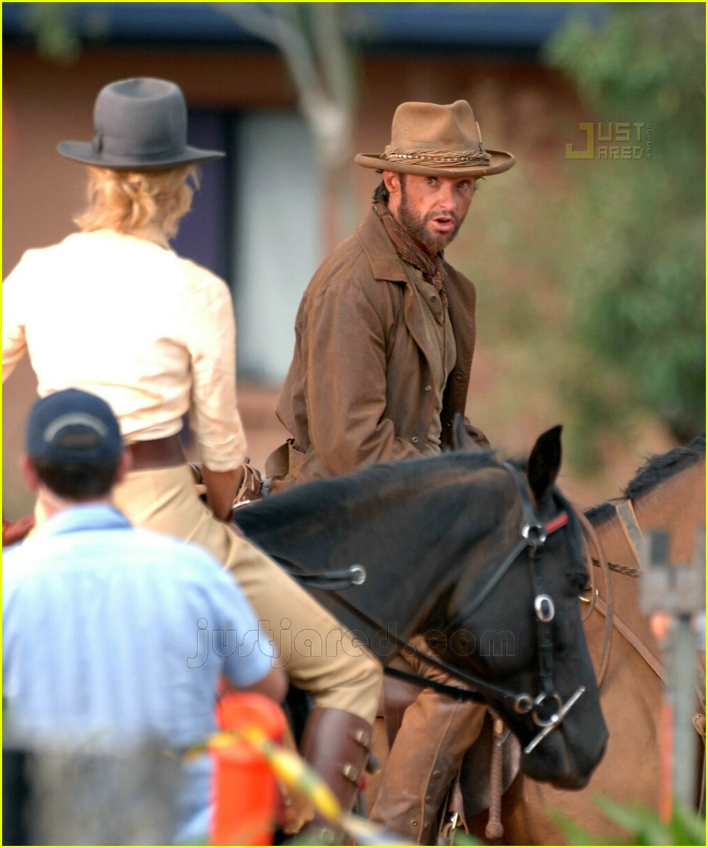 hugh jackman nicole kidman horseback 08