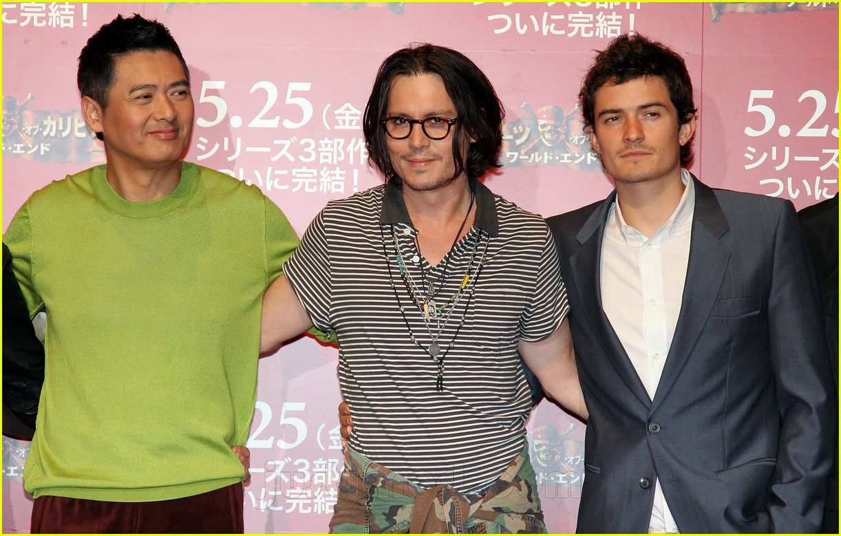 Full Sized Photo of pirates of the caribbean 3 japan 28 ... Orlando Bloom