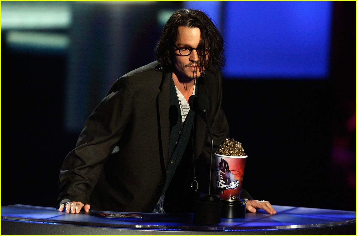 Terrific Johnny Depp Mtv Movie Awards 2007 Photo 413971 Johnny Depp Easy Diy Christmas Decorations Tissureus