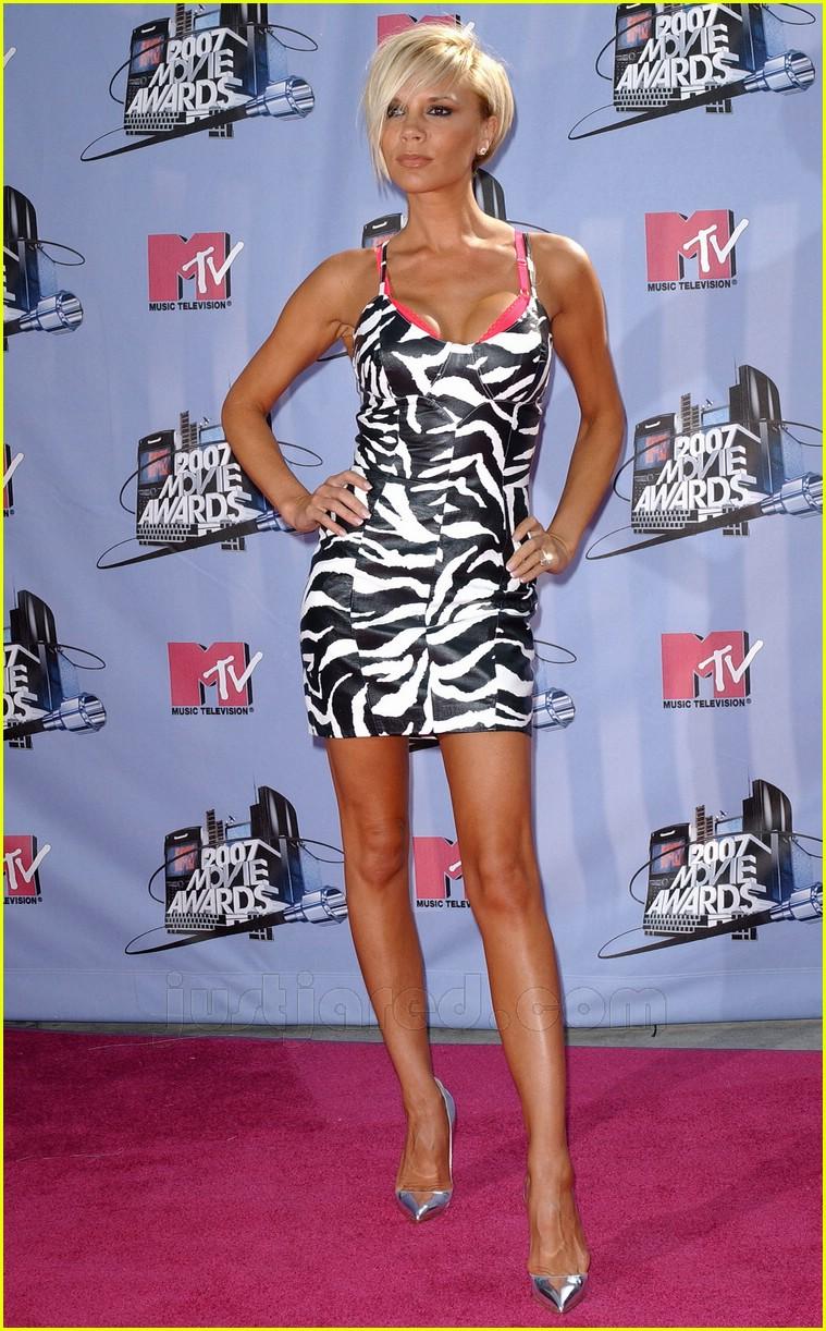 Full Sized Photo of posh mtv movie awards 2007 15 | Photo ... Victoria Beckham