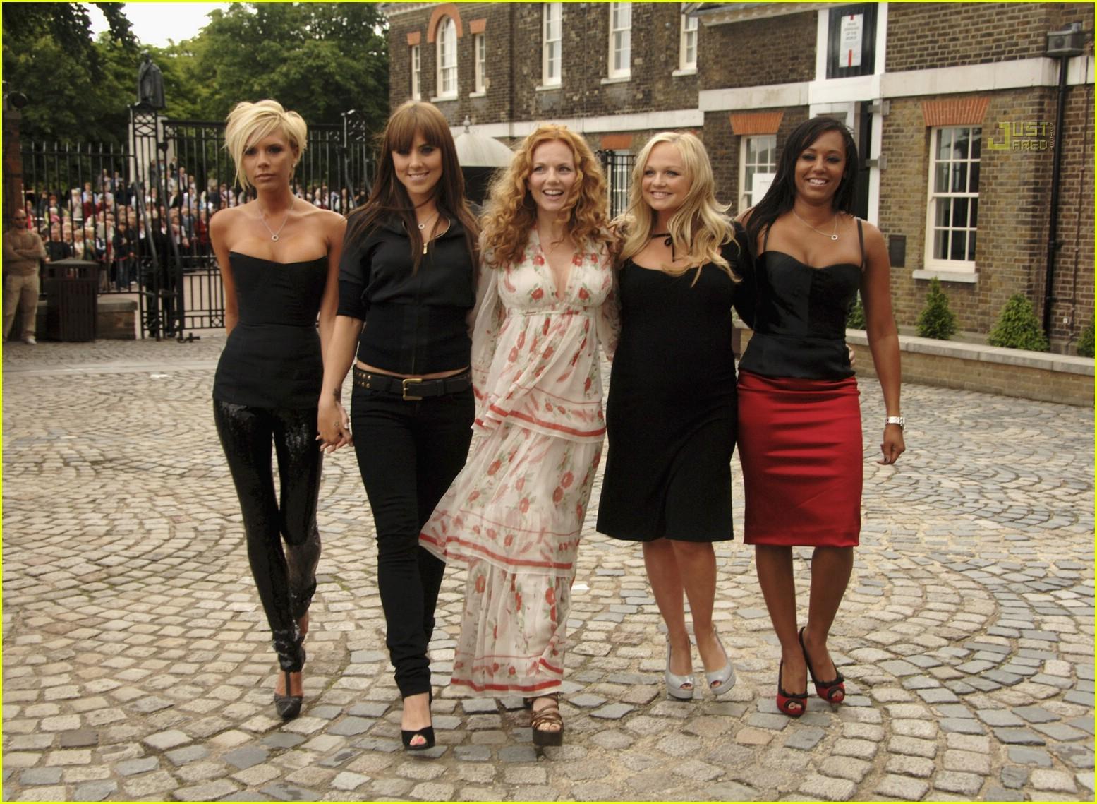 Spice Girls Reunion 2007 Photo 461961 Emma Bunton Geri