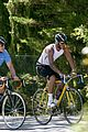 david beckham biking 09