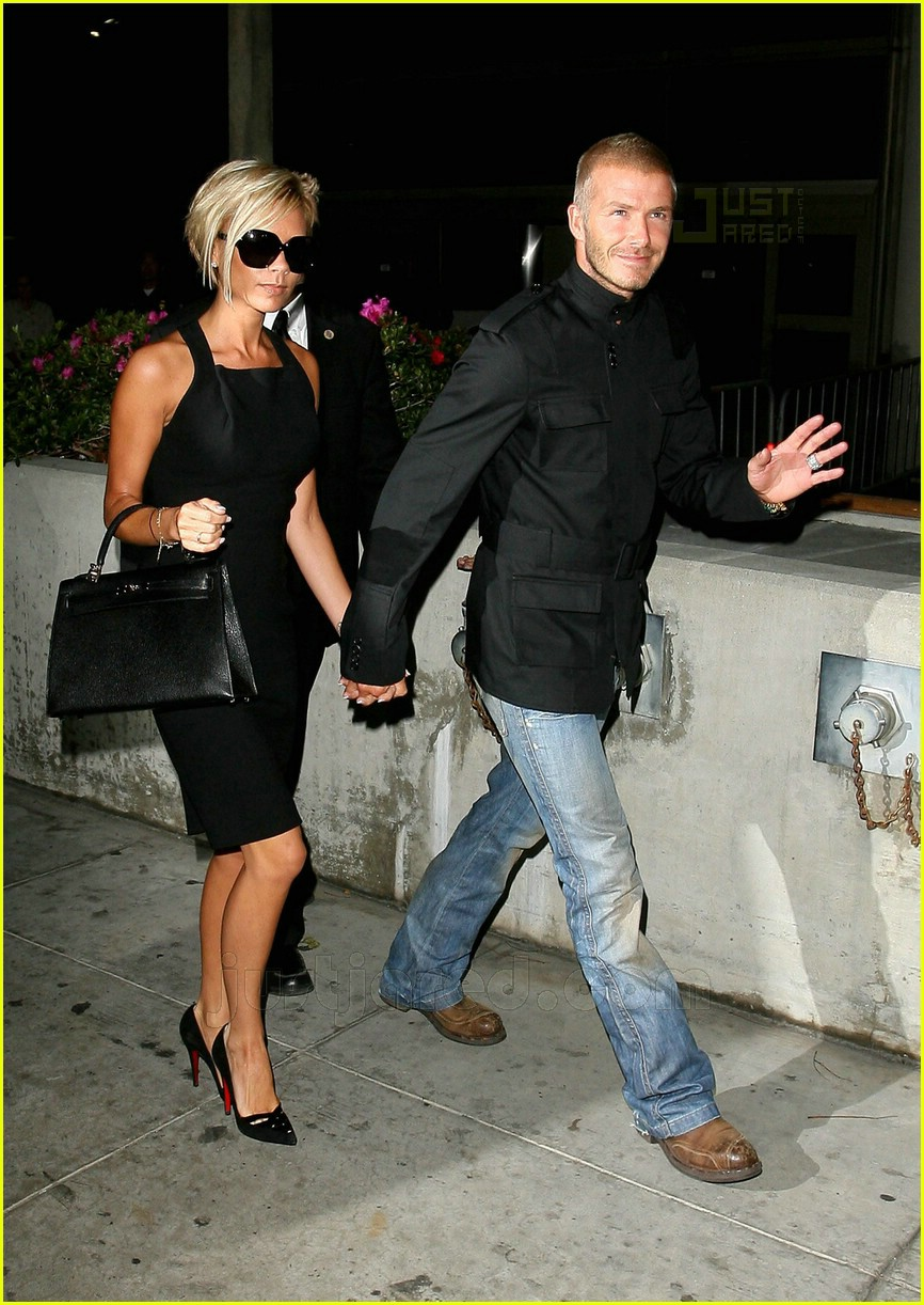 Full Sized Photo of david victoria beckham lax airport 10 ... Victoria Beckham For Target