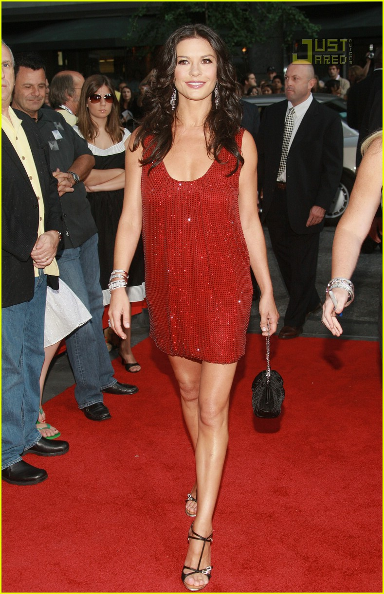 catherine zeta jones ungaro dress 06