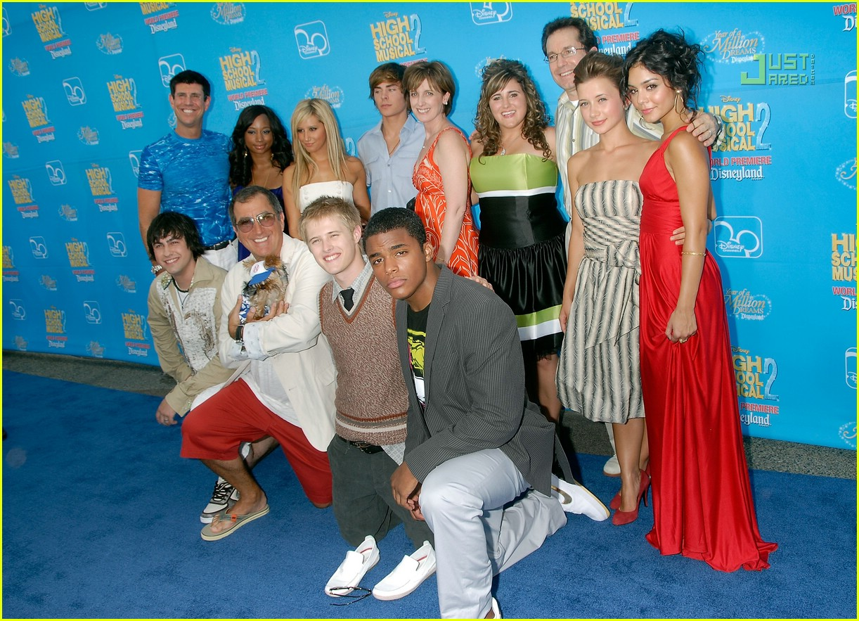 Ashley tisdale @ high school musical 2 premiere