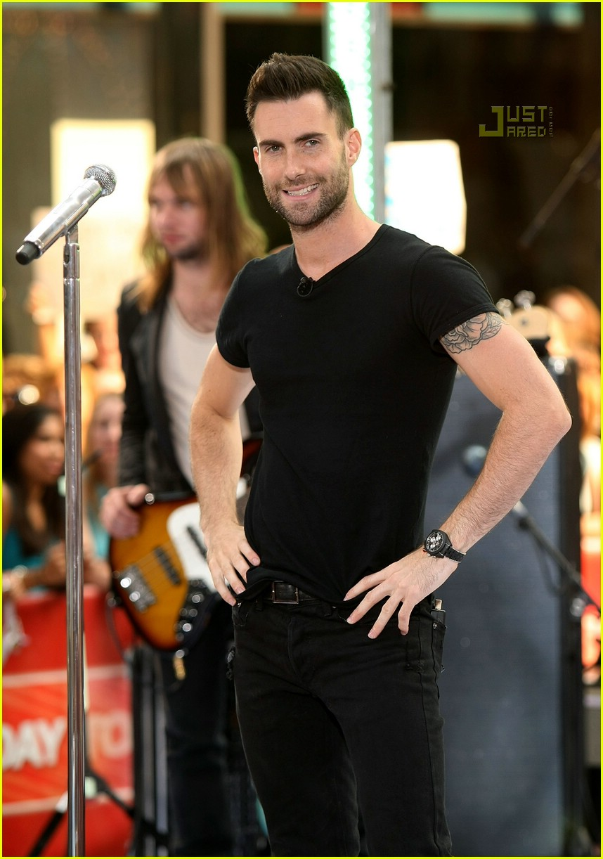 adam levine the today show 15