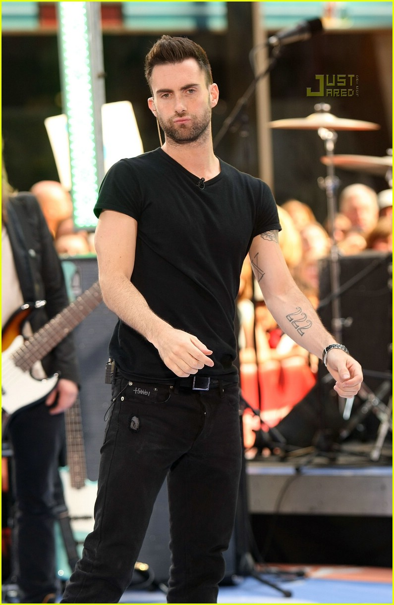 adam levine the today show 19
