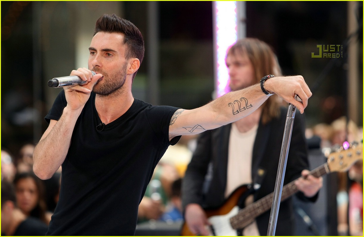 adam levine the today show 20