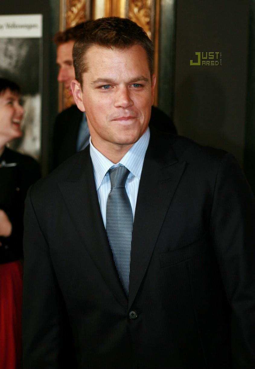 Matt Damon is Re-Bourn... Matt Damon