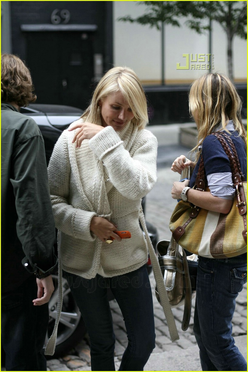 cameron diaz john mayer nyc 09
