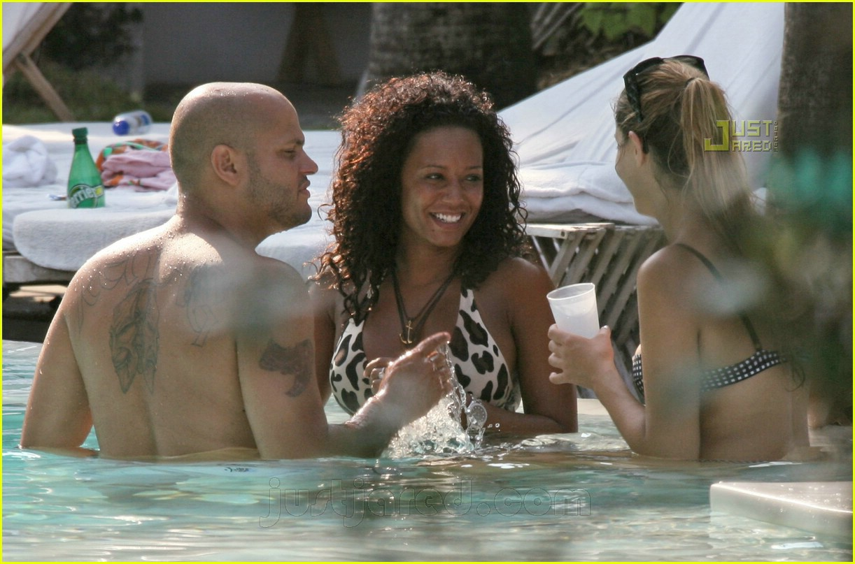 Image result for Stephen Belafonte and Melanie Brown