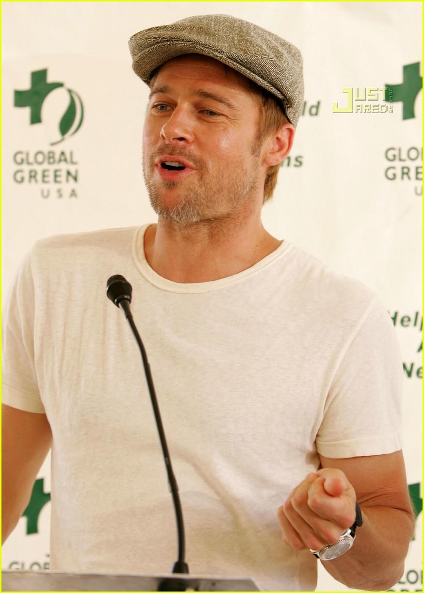 Brad Pitt Goes Global ...