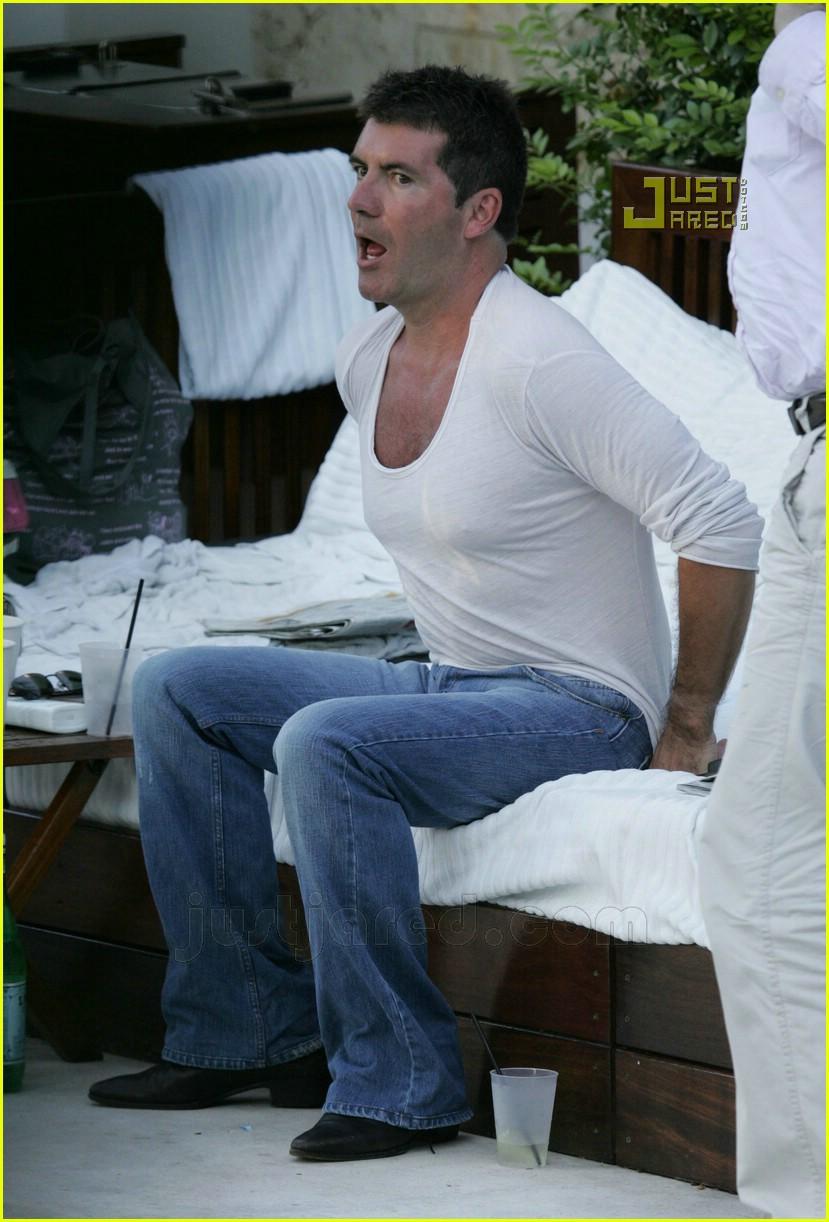 simon cowell shirtless 10621521