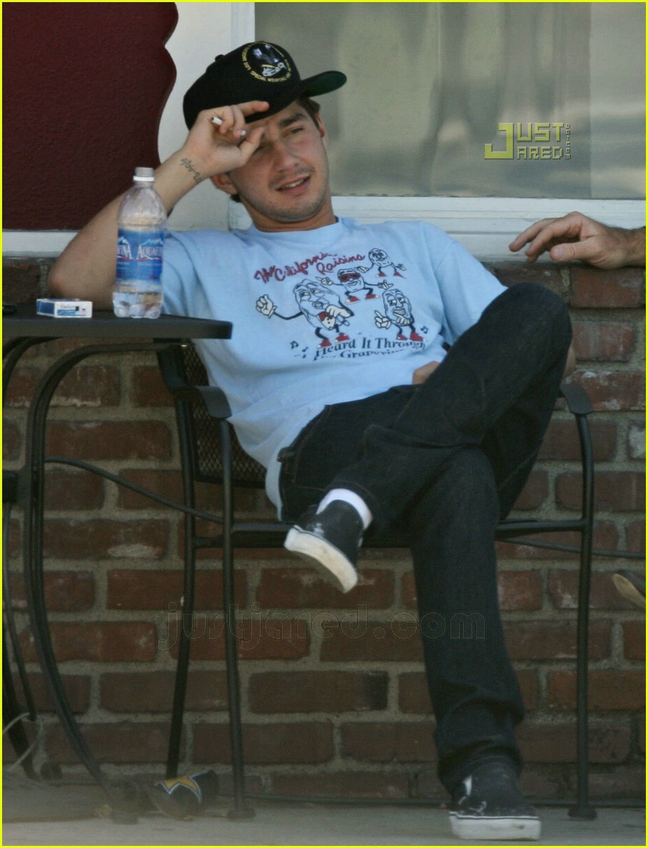 Full Sized Photo of shia labeouf smoking 09 | Photo 567621 ... Shia Labeouf