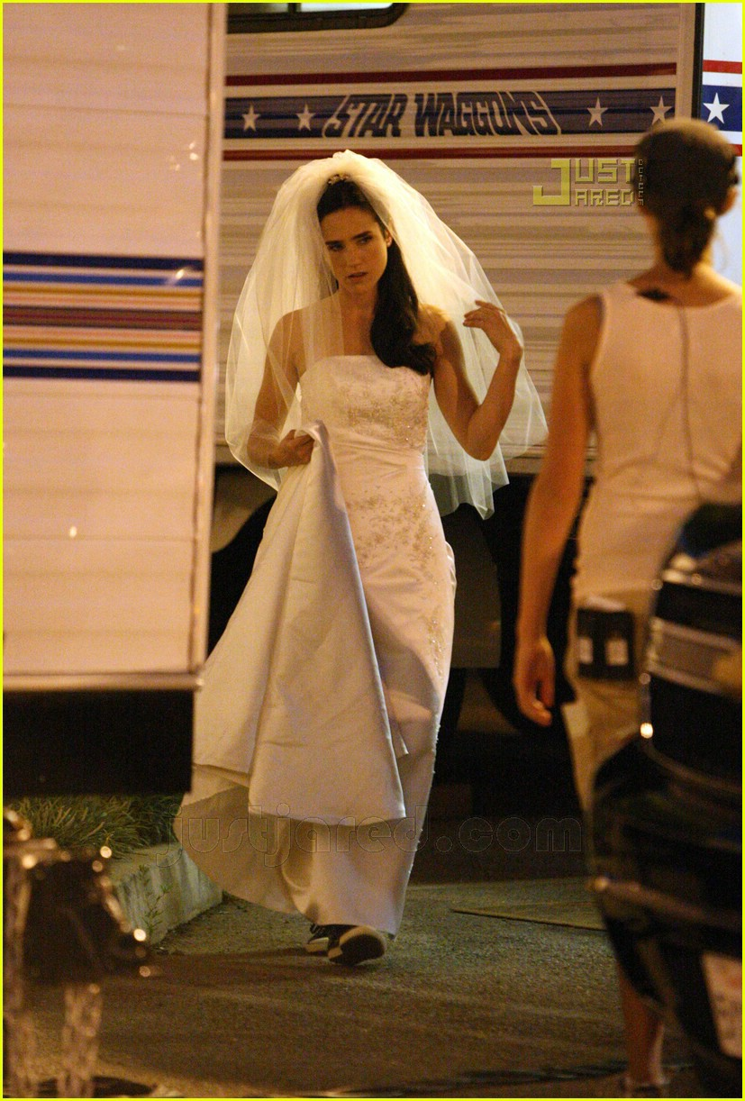jennifer connelly wedding dress 01