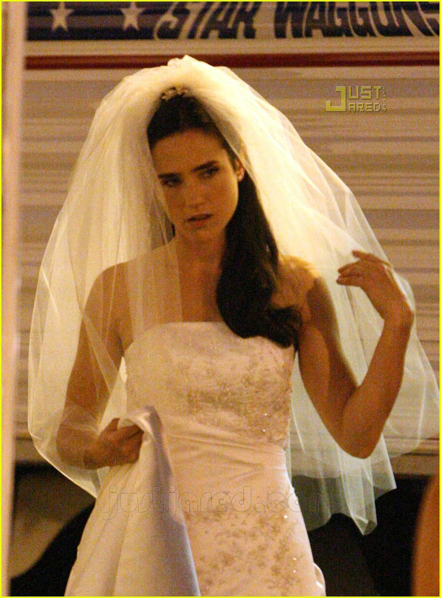 jennifer connelly wedding dress 02