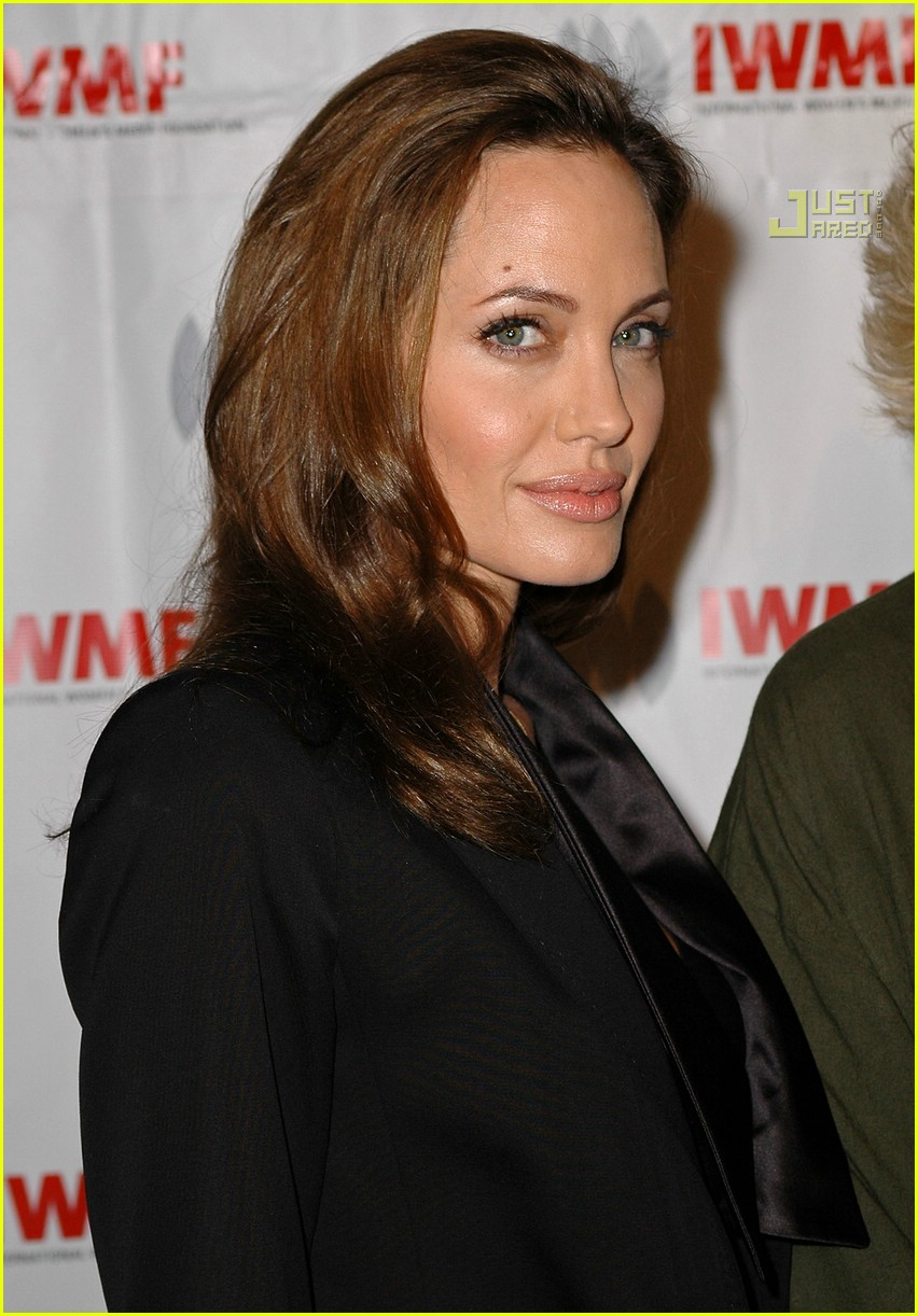 angelina jolie journalism awards 2007 11698381