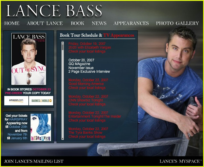 lance bass official website 01657101