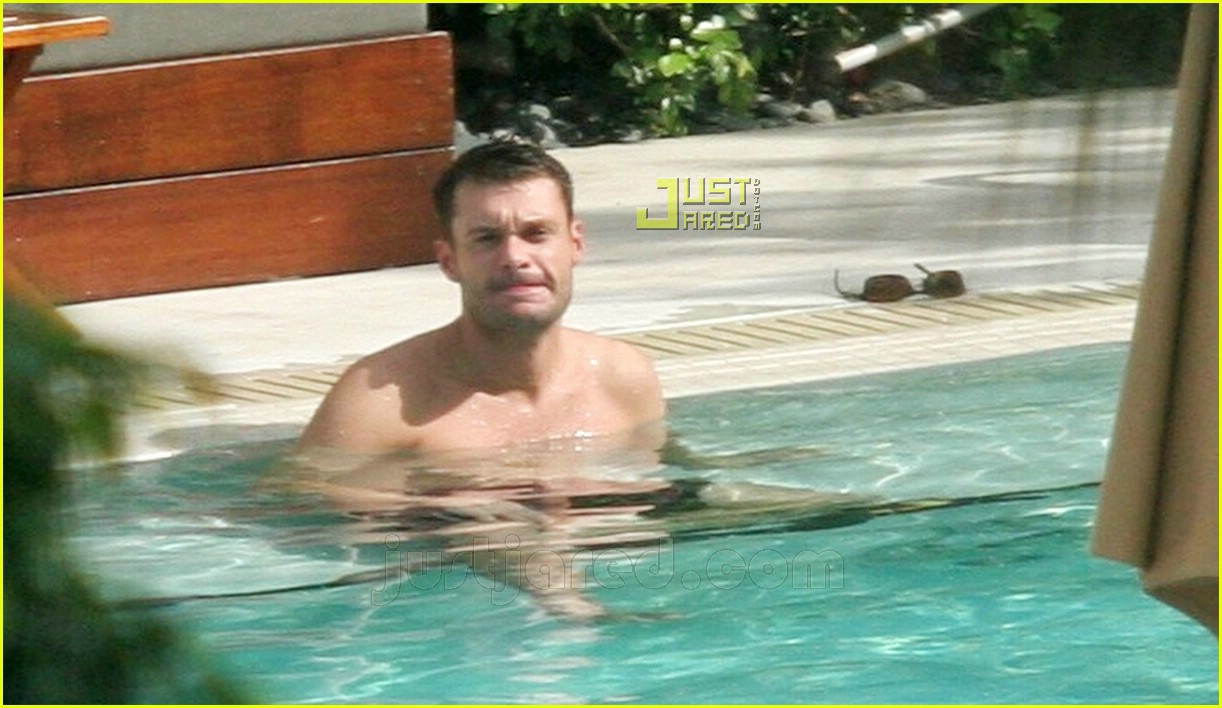 ryan seacrest simon cowell shirtless 06