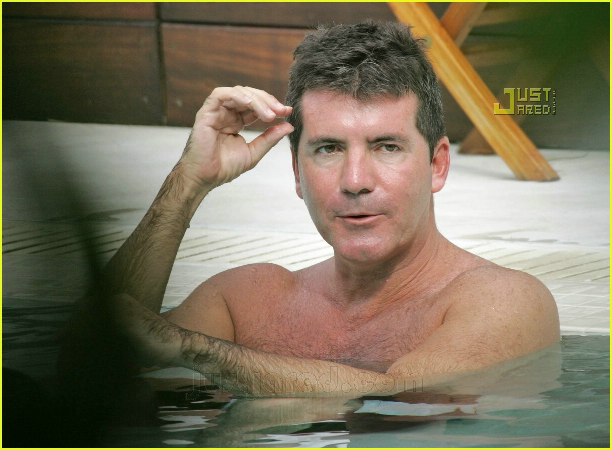 ryan seacrest simon cowell shirtless 08