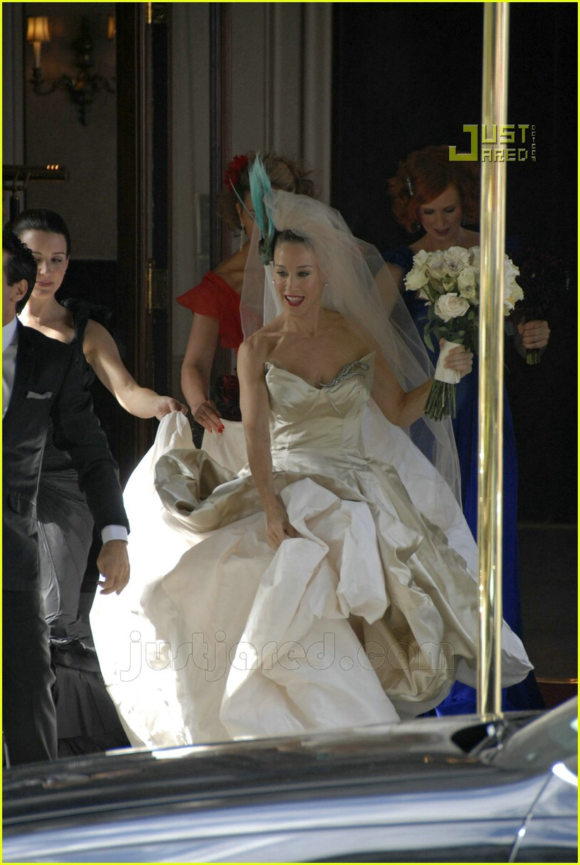 sarah jessica parker wedding dress 18