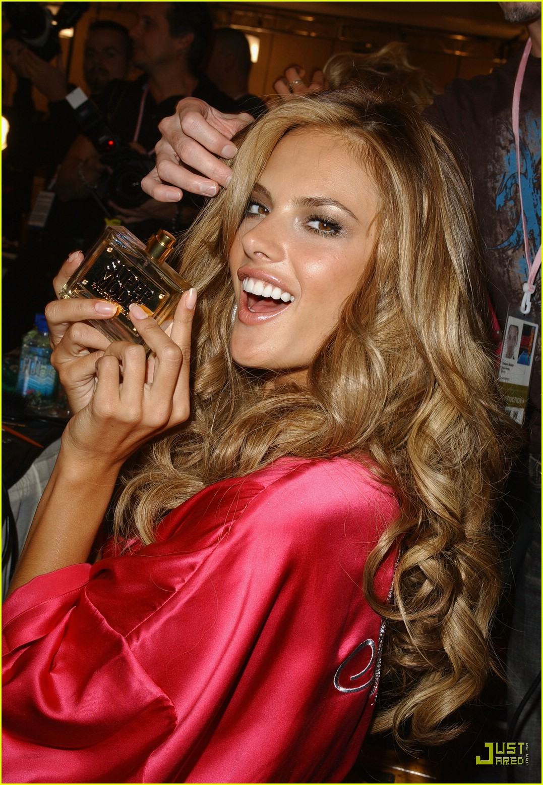 Alessandra Ambrosio Preps For Victoria s Secret Fashion Show 2007