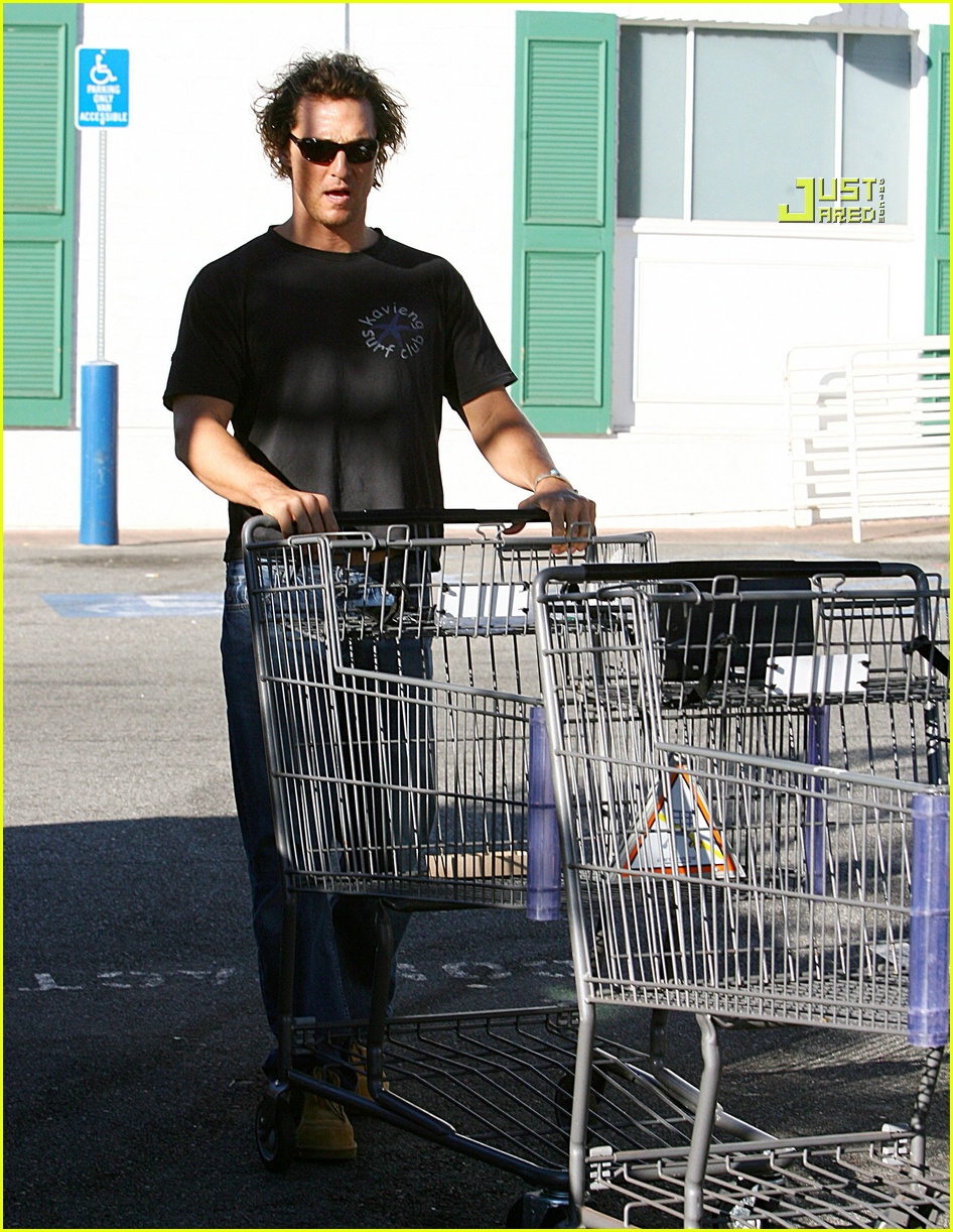matthew mcconaughey grocery shopping 03756471