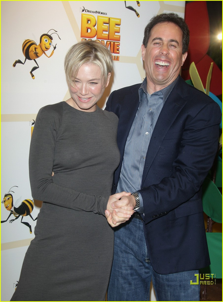 renee zellweger bee movie premiere 16