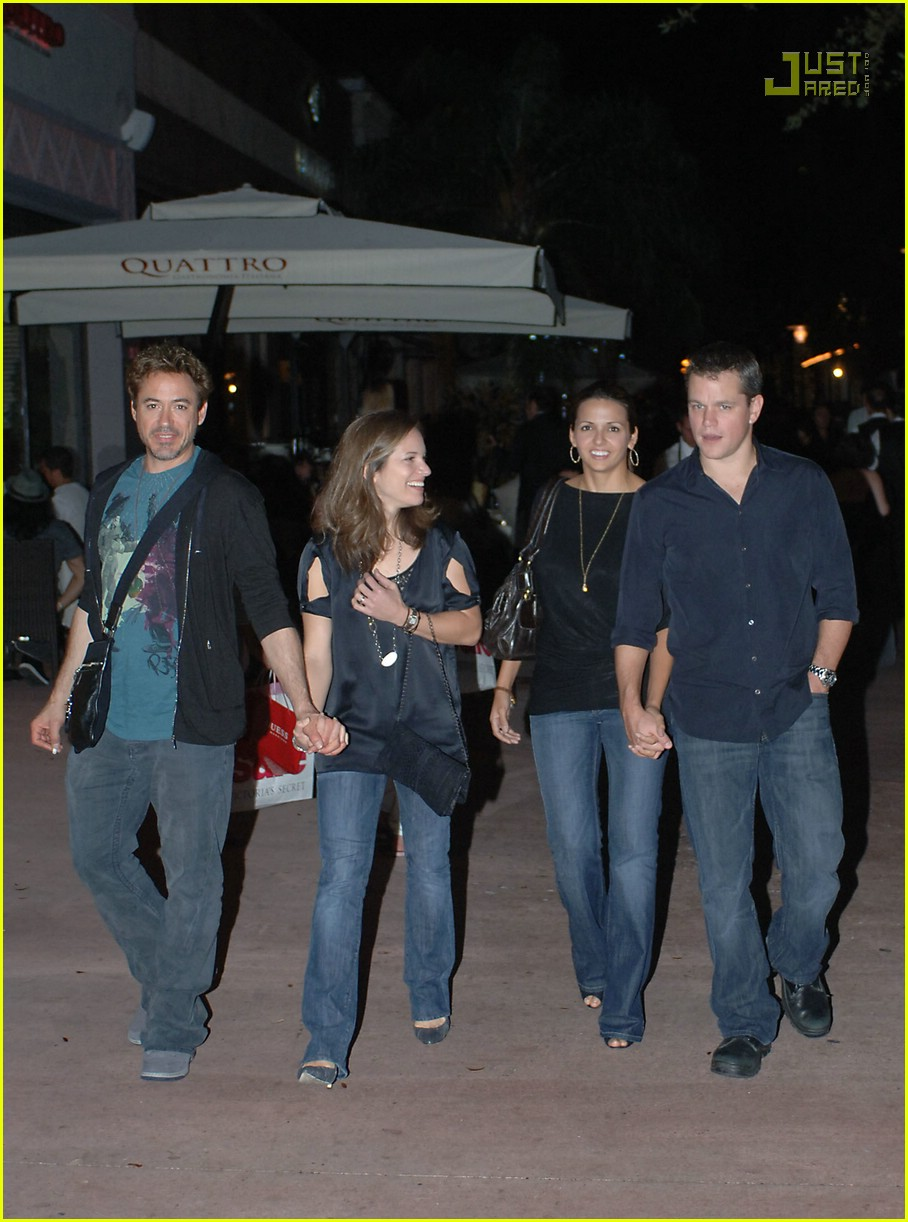 matt damon double date 03