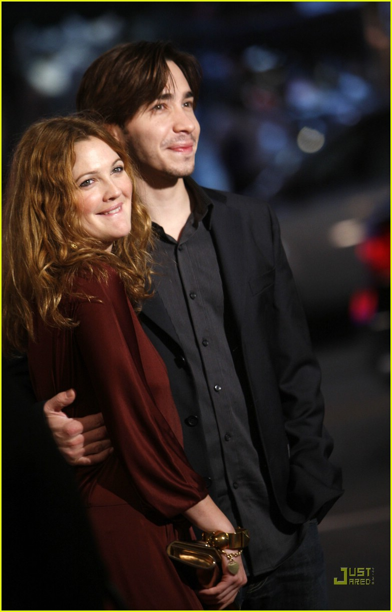 drew barrymore justin long red carpet love 02