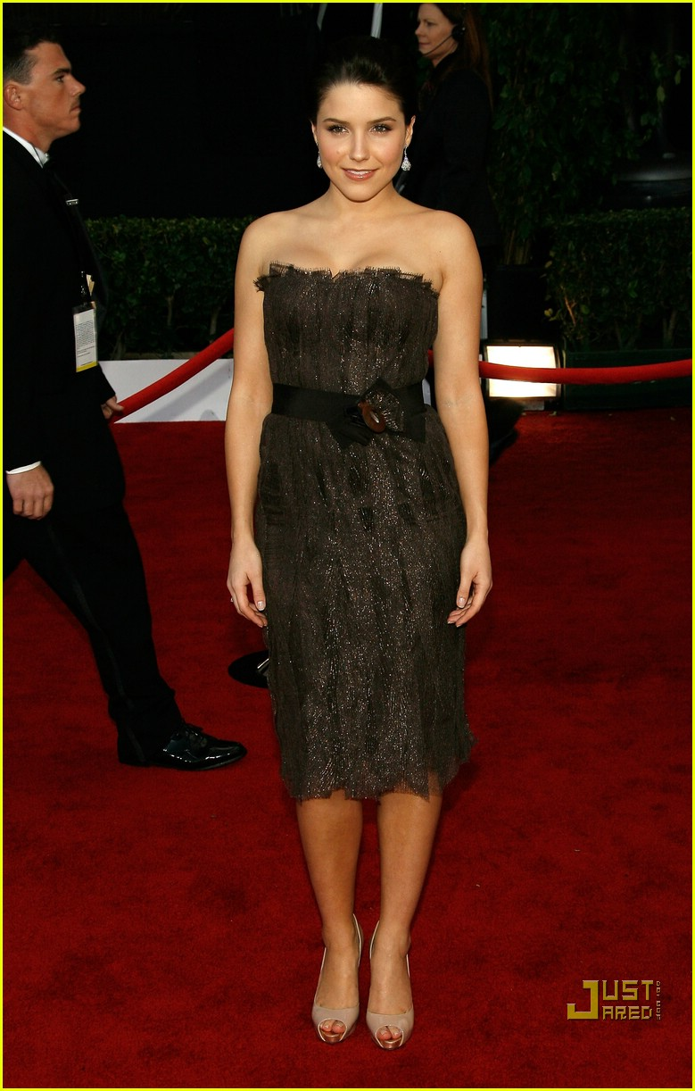 sophia bush sag awards 2008 02