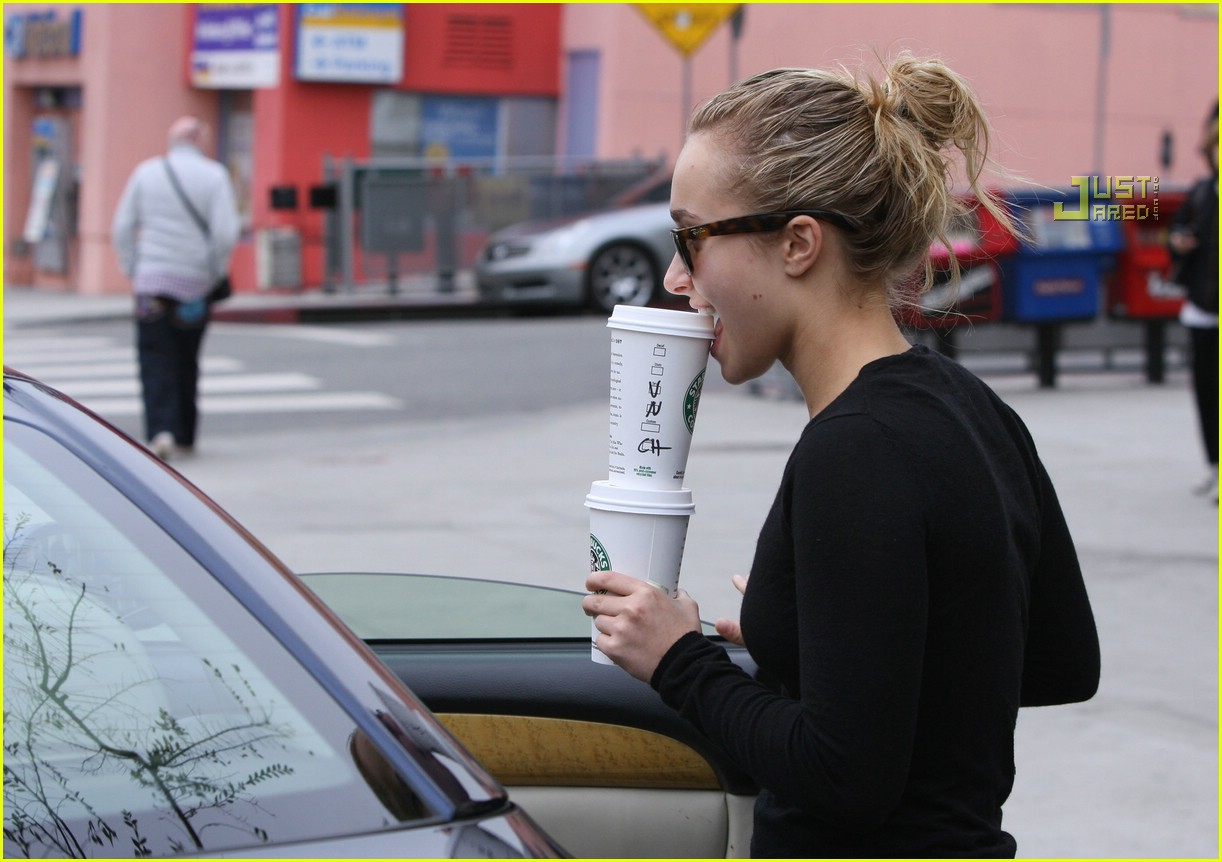 hayden panettiere drinks for two 07840451