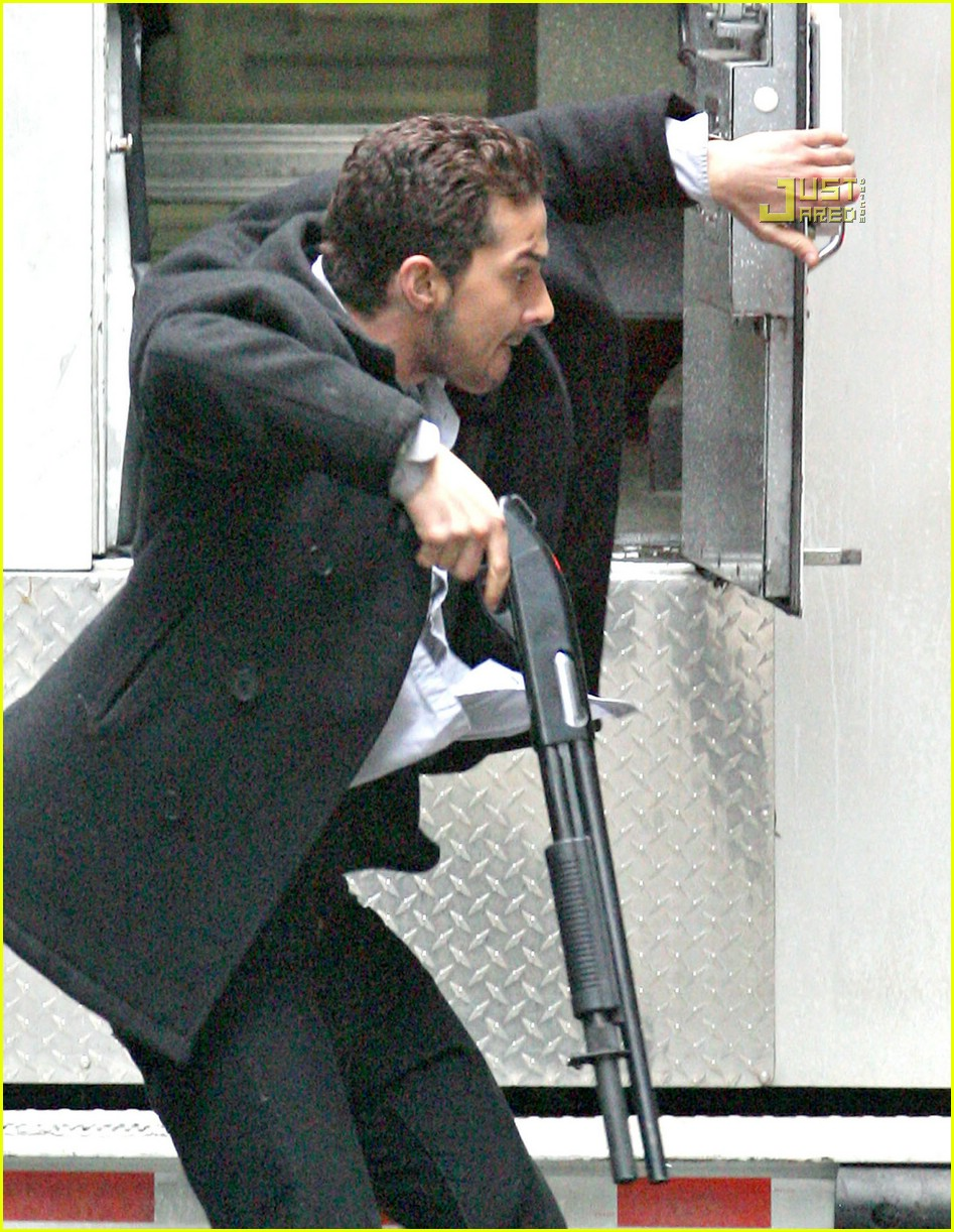 shia labeouf shotgun 22