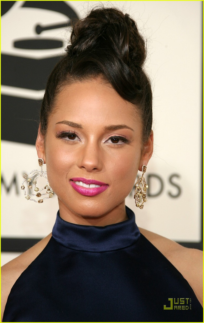 alicia keys grammys 2008 79